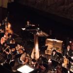 en avril 2016 au Palais Garnier, lors d'un spectacle avec l'école de danse de l'Opéra et l'orchestre des Lauréats du Conservatoire de Paris.