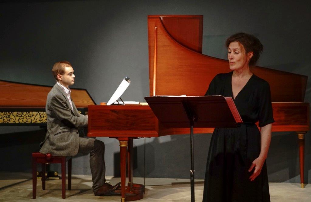 """concert au Musée de la Musique (Paris), le 25 juillet 2014, avec Emmanuelle Isenmann, soprano : """"A l'aube du romantisme : chanter l'amour, entre lied et romance..."""""""