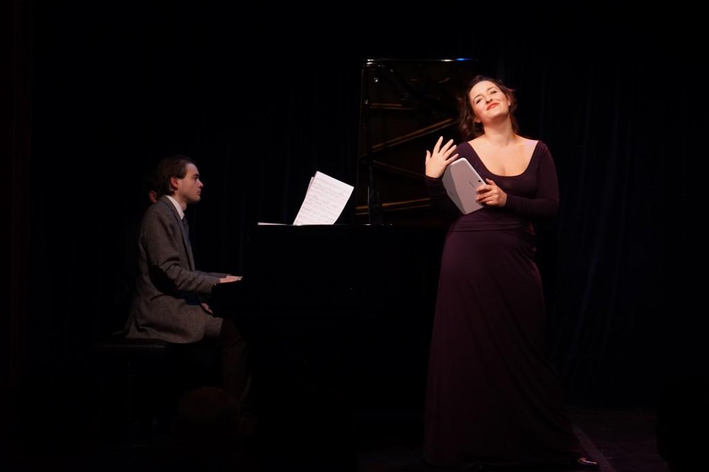 avec Marie Soubestre, lors du concert Gautier du 25-11-14