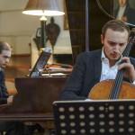 fête de la musique chez Olivier Maréchal (Palacepianos), à Sury-aux-bois le 28 juin 2014 - avec Jordan Costard dans la sonate de Chopin
