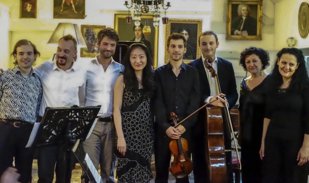 fête de la musique chez Olivier Maréchal (Palacepianos), à Sury-aux-bois le 28 juin 2014 - au-revoir !