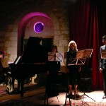 Schubertiade à la Maladrerie (Gravigny) le 30 septembre 2011 (1) - inspiration au clair de lune... avec Christine Spranger, Bénédicte Barriquand et Denis Chevallier