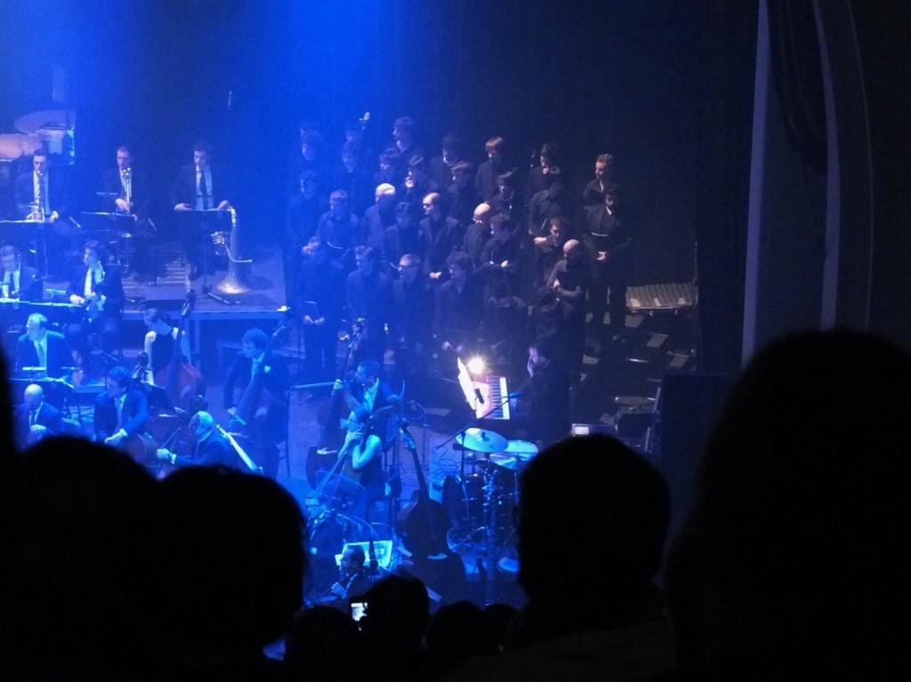 au grand Rex, dans les choeurs sous la direction de Vladimir Cosma, le 24 mars 2013