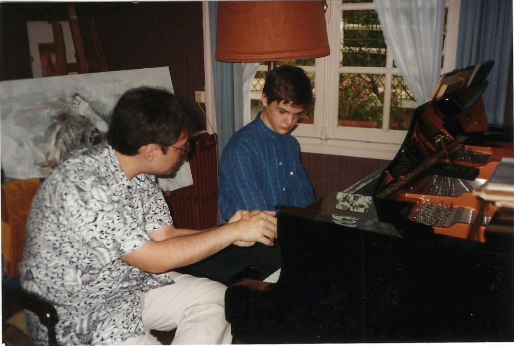 avec José Carlos Cocarelli, le 31 août 1998