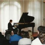 récital au Moulin d'Andé, le 5 décembre 2004